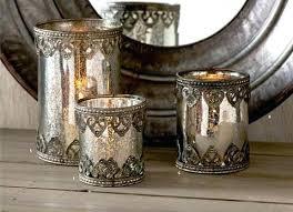 mercury glass lanterns inch mercury glass with metal filigree trim on hanging mercury glass solar lanterns