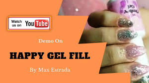 Happy Design Nails Hours Demo By Max Estrada Design Nail Live Happy Gel Fill With 94
