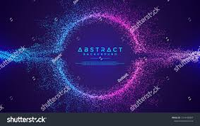 Particle Backgrounds Web Design Dynamic Abstract Liquid Flow Particles Background Shining