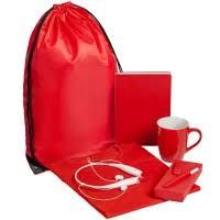 <b>Набор Welcome Kit</b>, <b>красный</b> под логотип