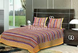 block printed bed sheets block print bed sheets exporter in jaipur block printed bed sheets