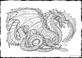 Disney Coloring Pages For Adults Pdf Spring Download Dragon Color