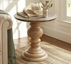 home and furniture mesmerizing round pedestal end table in furniture grandover 5029 50002 round