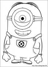 Small Picture Minions coloring pages on Coloring Bookinfo