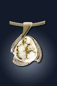 elk ivory jewelry gold quartz earrings