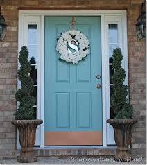 front door paintPainted Front Door Custom Blue Door Paint Is A Color Match To