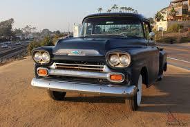 Chevy Apache 3/4 Ton Truck Big Window - Air Bagged Rear Suspension