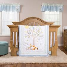 trend lab forest tales  piece crib bedding set  baby  baby