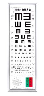 Visual Chart Ly 21c Led Super Thin 5m Standard Visual Chart Light Box