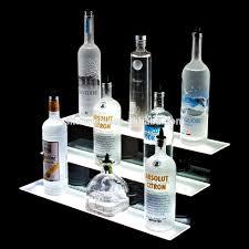 Decorative Display Cases Led Illuminated Acrylic Display Case Decorative Liquor Bottle