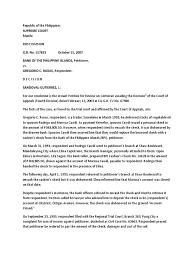 Bpi V Roxas Lawsuit Cheque