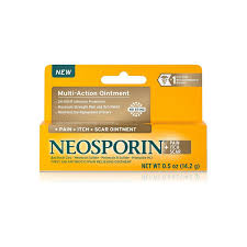 Neosporin + <b>Pain Itch Scar Multi</b>-<b>Action</b> Ointment 0.5 oz ...