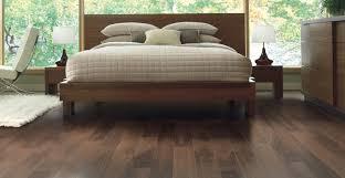 bedroom trendy wood themed bedroom feat cork flooring and hardwood platform bed cork flooring bedroom