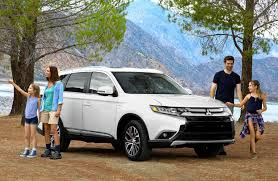 2018 mitsubishi outlander release date. beautiful 2018 2018 outlander in white with family camping inside mitsubishi outlander release date