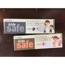 <b>CJ LION</b> KID <b>SAFE</b> TOOTHPASTE | Shopee Malaysia