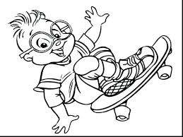 alvin and the chipmunks coloring page medium size of and the chipmunks coloring pages 1 pictures