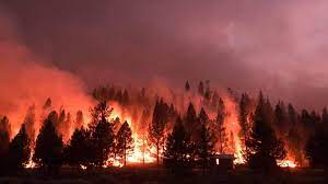 As a new Central Oregon fire grows ...