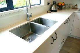 top mount sink to granite countertop under