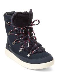 Pajar Canada Size Chart Navy Pamona Faux Fur Boots C21