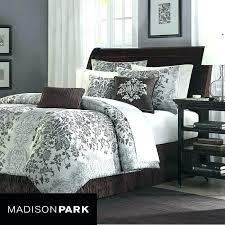 jacquard comforter set modern king quilt sets park 7 piece in beige for