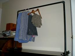 free standing clothes rack. Picture Of Free-standing Clothing Rack Free Standing Clothes O