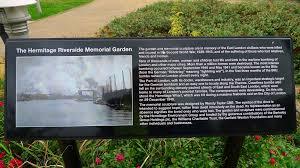 hermitage riverside memorial garden london borough of tower hamlets e1 by ewan