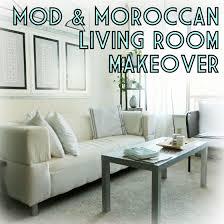 Moroccan Living Room Living Room Makeover With Mod Moroccan Decor The Decor Guru