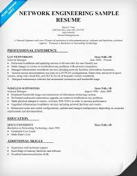 Entry Level Network Engineer Resume Sample Entry Level Network Engineer Resume Network Engineering Resume