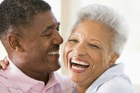 Image result for mature black couple talking
