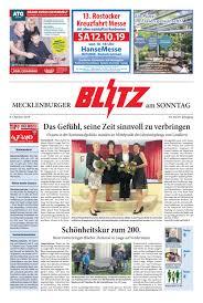 Mecklenburger Blitz Vom 06102019 By Blitzverlag Issuu