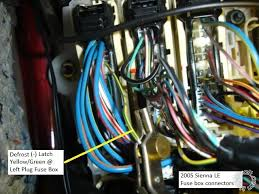 2005 toyota sienna remote start pictorial posted image