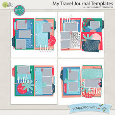Journal Templates My Travel Journal Templates