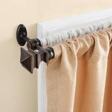 curtain hangers home depot curtain rods spring tension curtain rod