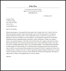 Professional Plant Manager Cover Letter Sample Writing Guide