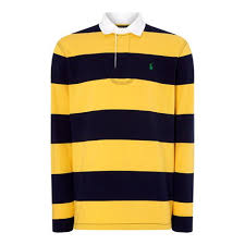 this is a product shot of polo ralph lauren polo rugby stripe 92