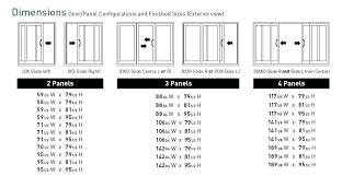sliding door width standard sliding door height adjustment