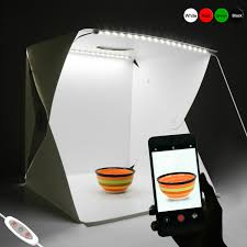 Photography Light Box Led Details About Portable Photo Studio Photography Light Box Led Lighting Room Kit Backdrop Cube