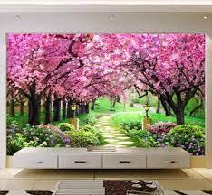 Mural Custom 3D Photo Wallpaper Flower ...