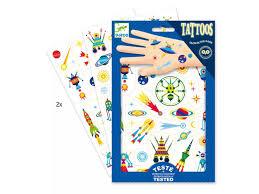 Djeco Tetování Veselý Vesmír Hračky Vzdělávačky