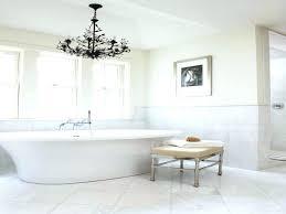 chandelier over bathtub bathroom lights tub lighting fixtures mirror modern elegant above safety hanging batht chandelier over bathtub