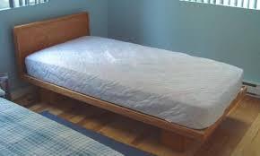 build a twin xl platform bed frame plans