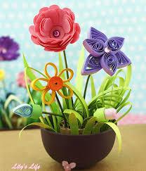 Paper Flower Pots Paper Flower Pot Magdalene Project Org