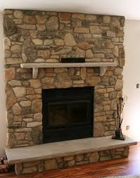 stone veneer fireplaces refacing a fireplace with panels dry stack stone veneer fireplace diy