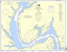 Noaa Nautical Chart 12288 Potomac River Lower Cedar Point