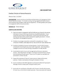 job description position director of human resources effective date 1212010 human resource associate job description