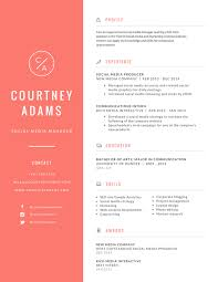 Free Online Resume Maker Canva Resume Design