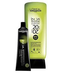 L Oreal Inoa Colour Chart Loreal Inoa No 5 3 With 6 20vol Inoa Deeveloper Permanent Hair Color Brown Light Golden 60 Gm