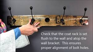 Hanging A Coat Rack how to hang a coat rack Cosmecol 40