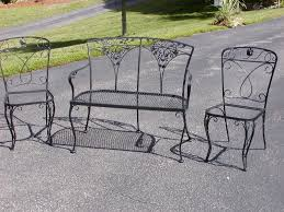 wrought iron patio furniture vintage. Full Size Of Patio:patio Black Wrought Iron Furniture Sets Vintage Dining Patio T