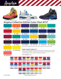 Angelus Color Charts